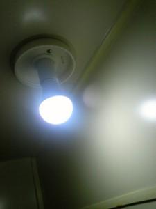 weiße Licht- blauen LED